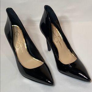 Jessica Simpson Parthenia Pointy Toe Pump Black 6